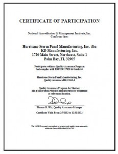 Quality Assurance Accreditation